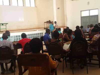 Workshop for Teachers on the NTS for Ghana.
